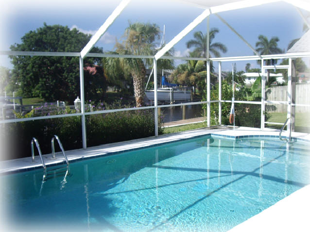 pool house vendome cape coral florida vacation rental
